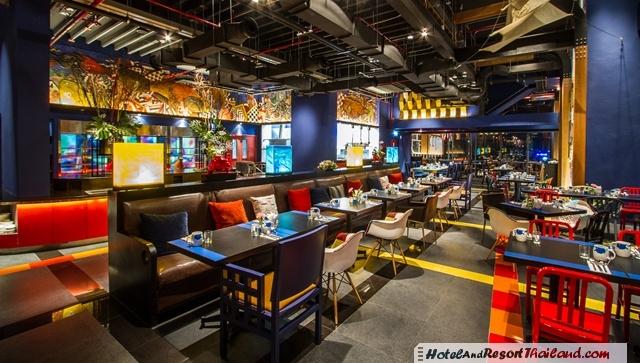 Siam siam design hotel pattaya for Big fish seafood bistro