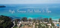 พูลวิลล่าสุดหรู!! High Season Pool Villa & Spa